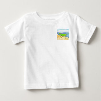Grasshopper from the  Bugly the butterfly book Baby T-Shirt