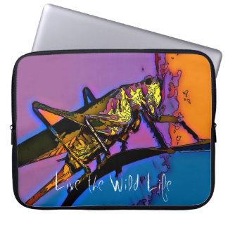 Grasshopper - Live the Wild Life / Laptop Sleeve