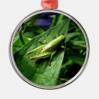 Grasshopper Metal Ornament