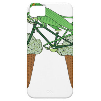 Grasshopper Riding Bike W/ Grasshopper ice cream iPhone 5 Cover
