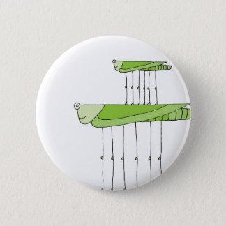 Grasshopper Stack 2 Inch Round Button
