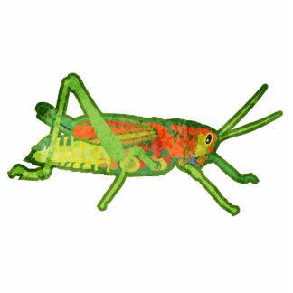 Grasshopper Standing Photo Sculpture