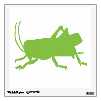 grasshopper wall sticker