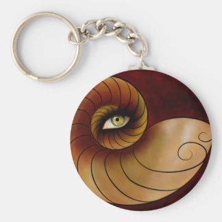 Grassonius V1 - watching eye Basic Round Button Keychain