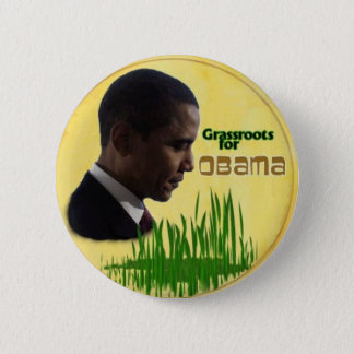 Grassroots for Obama 2 Inch Round Button