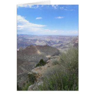 Grassy Grand Canyon card