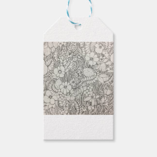 Grassy plain pack of gift tags