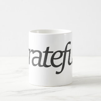 grateful. coffee mug
