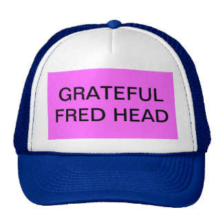 GRATEFUL FRED HEAD 1 TRUCKER HAT