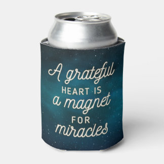 Grateful Heart Magnet for Miracles | Can Cooler