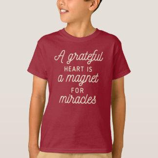 Grateful Heart Magnet for Miracles | Shirt