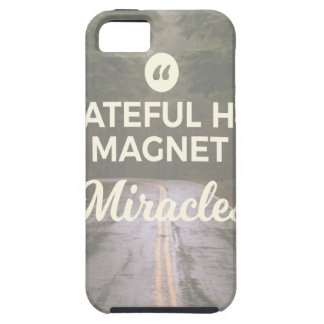 Grateful Heart Miracle Magnet iPhone 5 Covers
