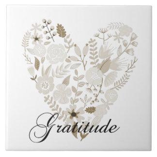 Grateful Heart Tile