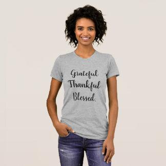 Grateful Thankful Blessed T-Shirt