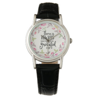 Grateful Woman's Watch