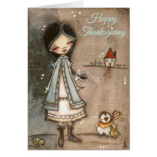 Gratitude and Quiet Joy - Thanksgiving Card