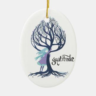 """Gratitude"" Christmas Ornament"