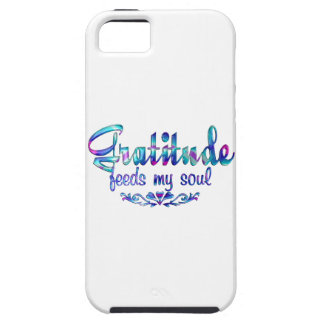 Gratitude Feeds My Soul iPhone 5 Case