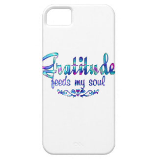 Gratitude Feeds My Soul iPhone 5 Covers