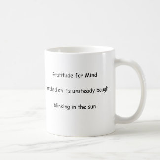 Gratitude for Mind mugs and steins
