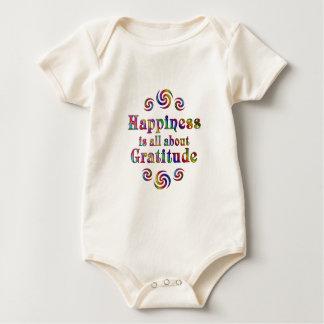 GRATITUDE HAPPINESS BABY BODYSUIT