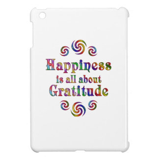 GRATITUDE HAPPINESS COVER FOR THE iPad MINI