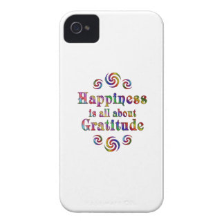 GRATITUDE HAPPINESS iPhone 4 COVER