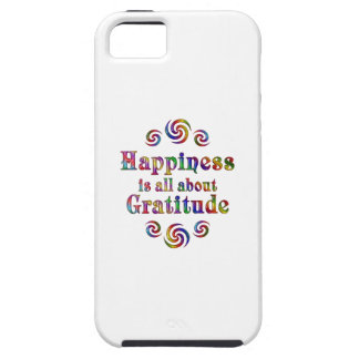 GRATITUDE HAPPINESS iPhone 5 COVER