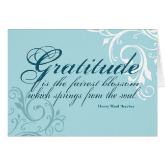 Gratitude Quote www.sobercards.com Card