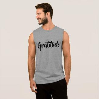 Gratitude Sleeveless Shirt