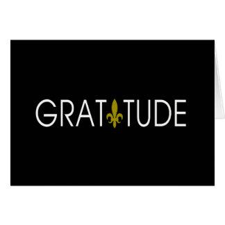 Gratitude Thank You Note Card
