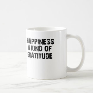 GRATITUDE TO LIVE COFFEE MUG