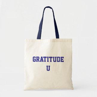Gratitude U Tote Budget Tote Bag