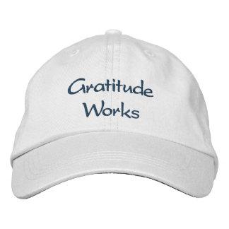 Gratitude Works - hat Embroidered Hat