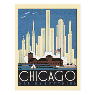 Gratte-ciel vintage d horizon de Chicago l Illinoi