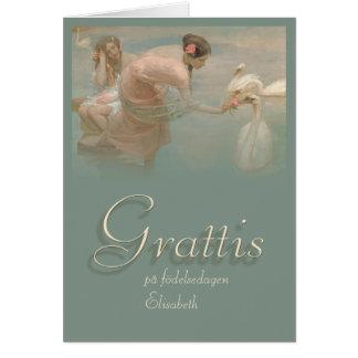 Grattis CC0141 Birthday Card