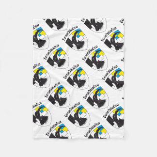 Graubünden Switzerland gift paper Fleece Blanket