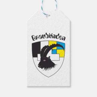 Graubünden Switzerland gift supporter Gift Tags
