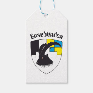 Graubünden Switzerland gift supporter Pack Of Gift Tags