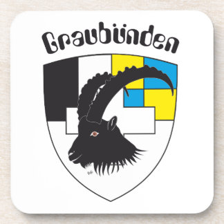 Graubünden Switzerland reductor Drink Coaster