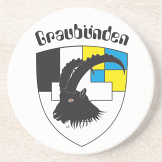 Graubünden Switzerland reductor Drink Coasters