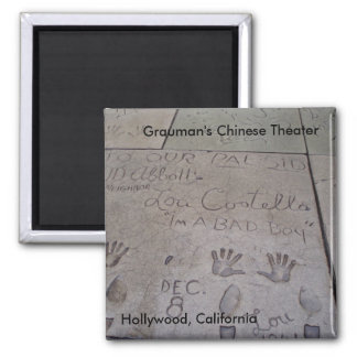 Grauman's Chinese Theater Magnet