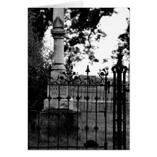 Grave Card