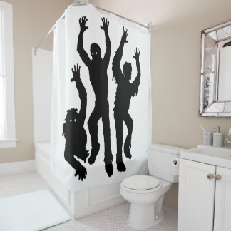 Grave Crawlers Shower Curtain