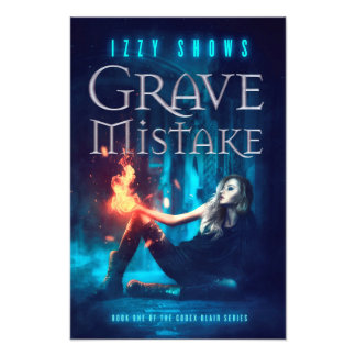 Grave Mistake Poster Art Photo