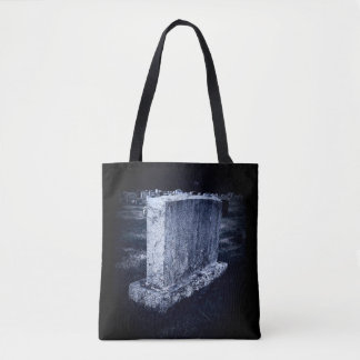 Grave Print All-Over-Print Tote Bag