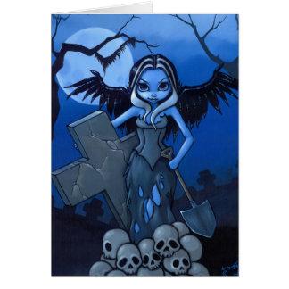 """Gravedigger"" Greeting Card"