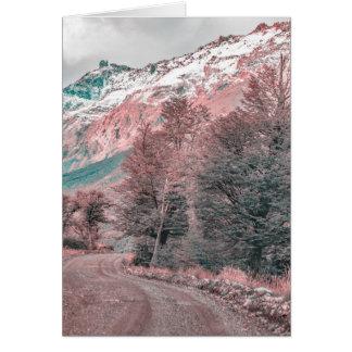 Gravel Empty Road - Parque Nacional Los Glaciares Card