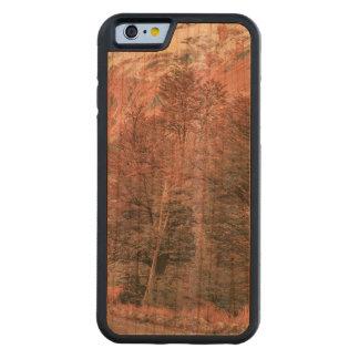 Gravel Empty Road - Parque Nacional Los Glaciares Carved Cherry iPhone 6 Bumper Case