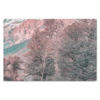 Gravel Empty Road - Parque Nacional Los Glaciares Tissue Paper